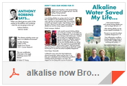 Alkalise Now Brochure